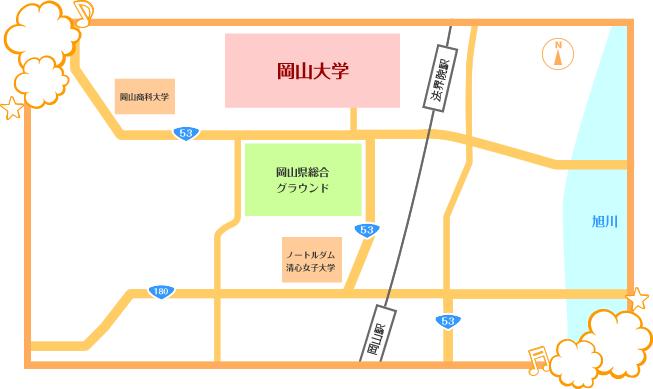地図(ゆるめ)